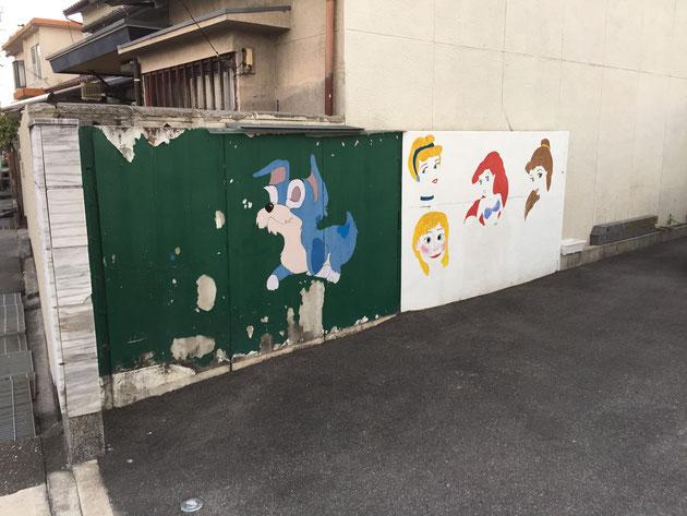 ディズニーのお姫様たちが!子供ってディズニーキャラクター好きですよね!