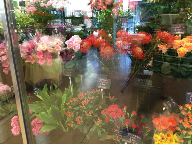 素敵な切り花が沢山!!全部欲しくなっちゃう!