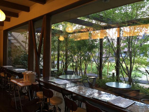 名古屋市東区で見つけたお庭が素敵なカフェ・茶縁さん