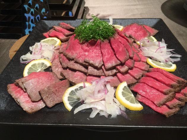 YKKエクステリアデザイン施工フォトコンテスト授賞式で頂いたお肉!!!最高!!!