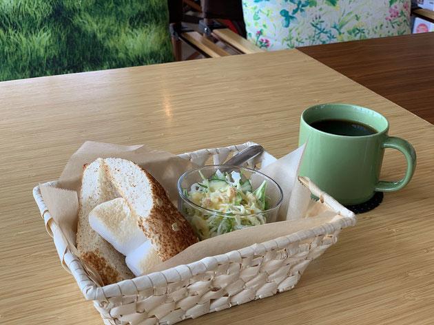 カフェ&バーji・youさんの美味しい珈琲とモーニングセット!