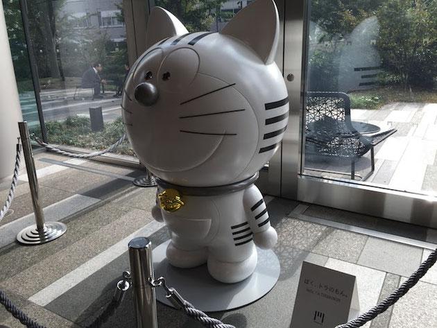 東京オリンピックにむけ再開発が進む東京にこんな猫型が居たなんて・・・