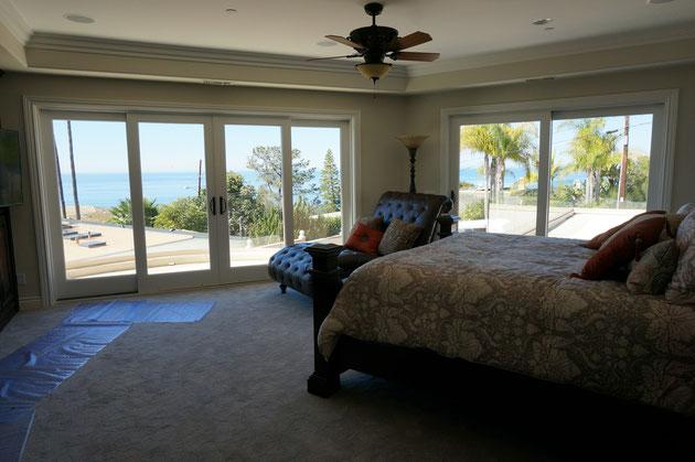 海を見渡せるベッドルーム!目覚めはどんな感じなのかなぁ!