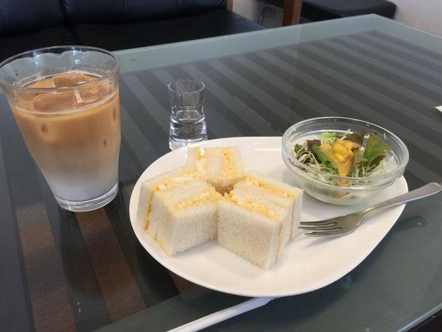 守山区にある『Cafeかりん小幡店』さんでモーニング!素敵なサンドイッチモーニングでした!