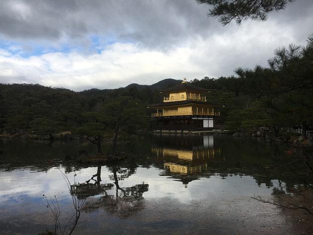 研修旅行で金閣寺へ