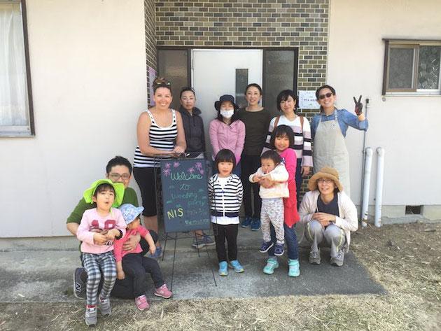 名古屋国際学園さんと柴垣グリーンテック第一回目のガーデン計画の様子!
