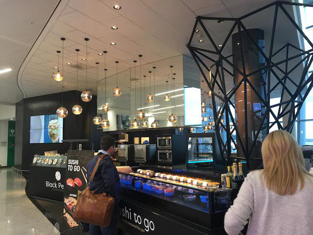 ブリュッセルの空港のお店はとてもオシャレ!