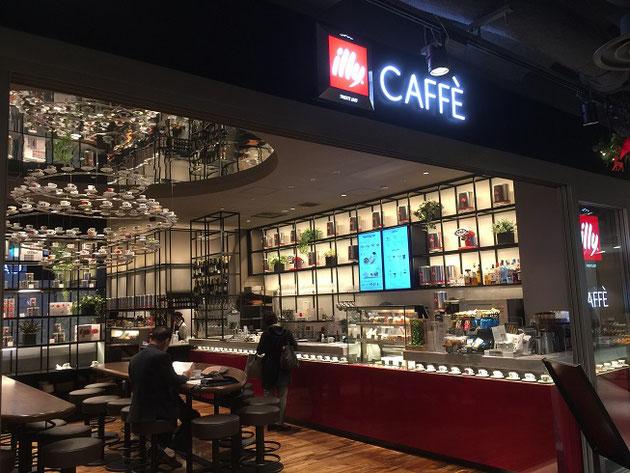 有楽町イトシアにあった『illy CAFFE』