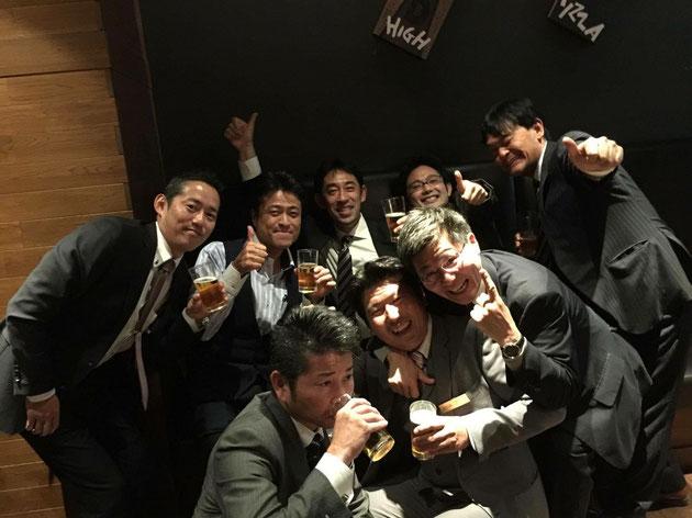 JEXA設立説明会の後に行われた懇親会にて。水野さん写真ありがとうございます!!!