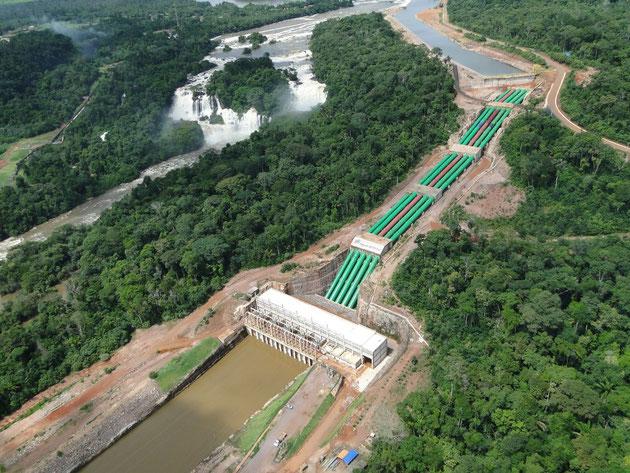 Den omstridte Belo Monte - vanddæmning