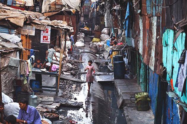 Fattigdom i Indien i dag (Mumbai)