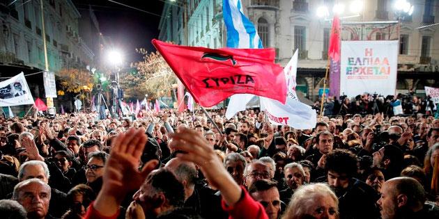 Venstrefløjspartiet 'Syriza' ved en korsvej?