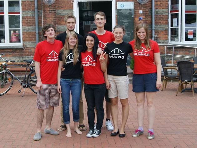 Team Gongshan (v.l. Jasper, Lysander, Luisa, Dina, Fabian, Karin, Merle)