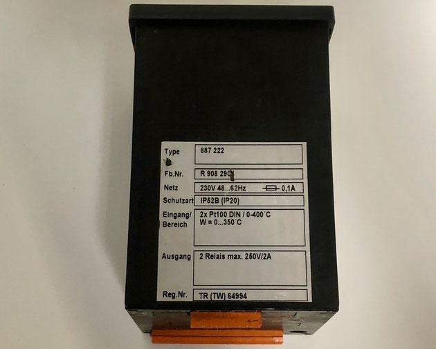 Wiesloch electric controller, Type: 887222