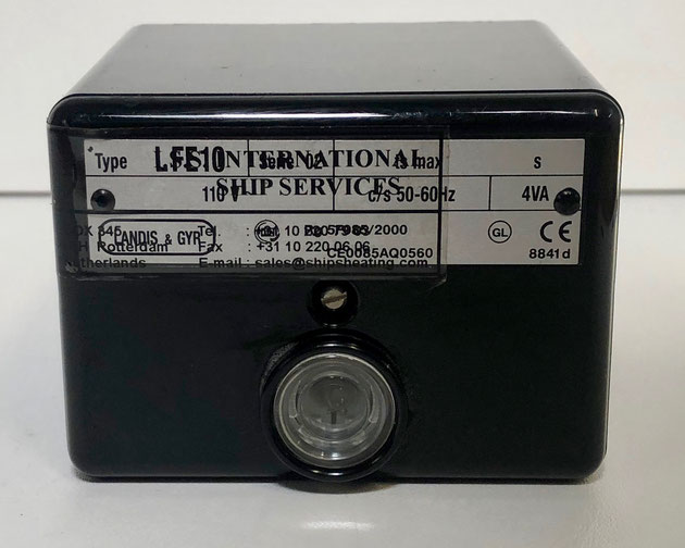 SIEMENS flame safeguard burner control, Type: LFE10
