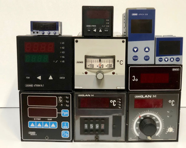 Jumo electric controllers