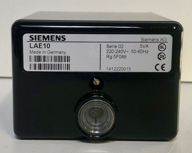 SIEMENS flame safeguard burner control, Type: LAE10