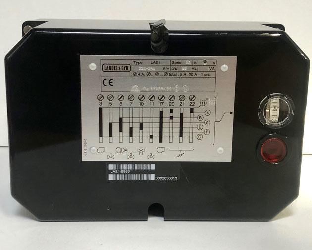 LANDIS & GYR oil burner control, Type: LAE1