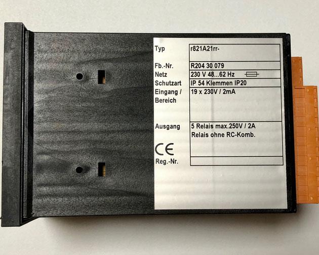 Wiesloch alarm unit type r821A21rr