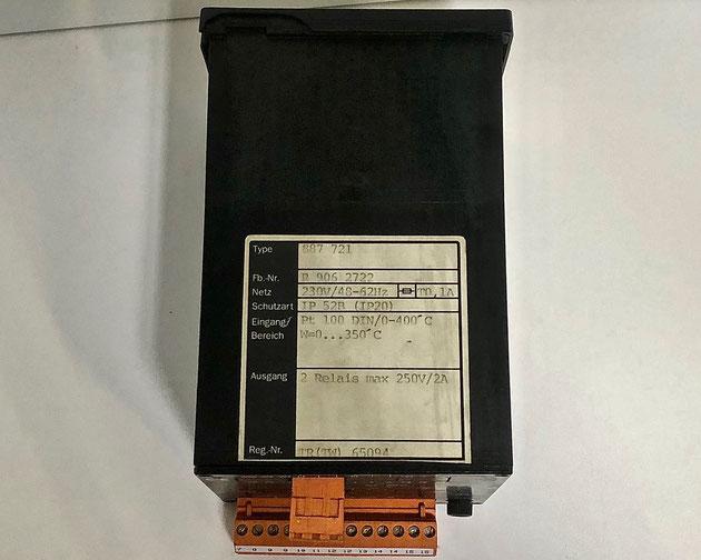 Wiesloch Electric Controller, Type: 887721