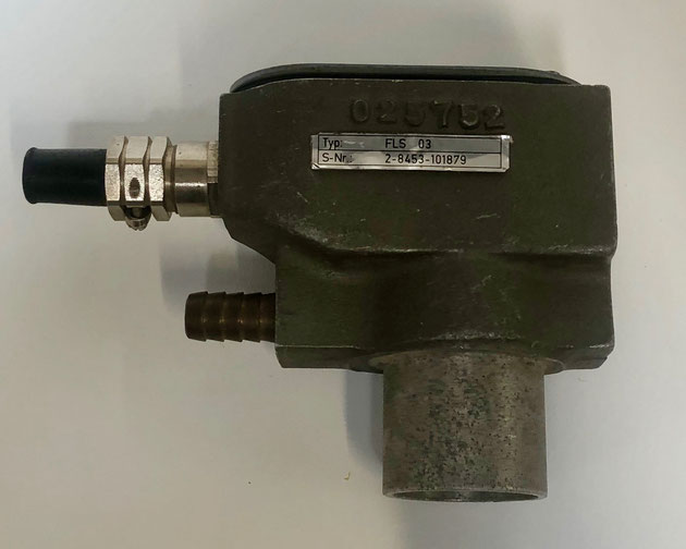 SAACKE flame sensor, Type: FLS03