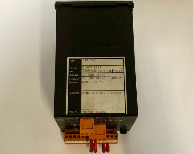 Wiesloch electric controller, Type: 887741