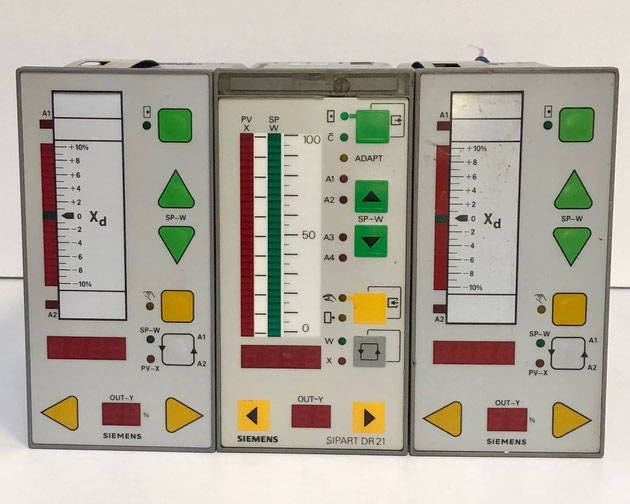 SIEMENS SIPART electric controllers