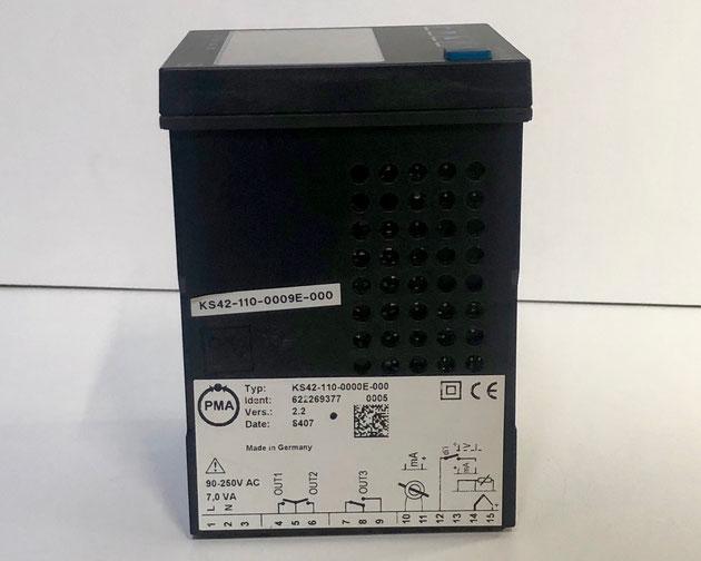 PMA electric temperature controller, Type: KS 42-1