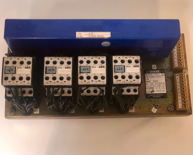 The SAACKE burner control unit, Type BAC 2000