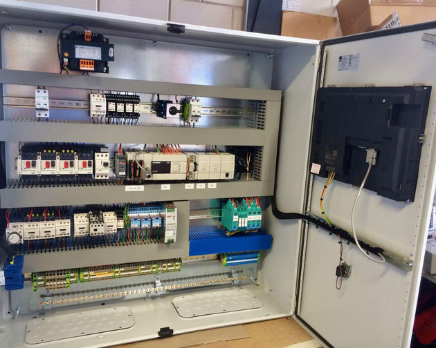 HMI, switch box, switch panel, alarms, system control, automation