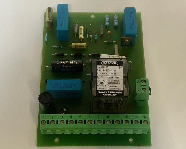 SAACKE flame detector, Type: FLUS 03