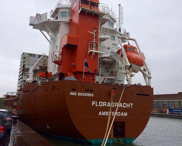 cargo ship, floragracht