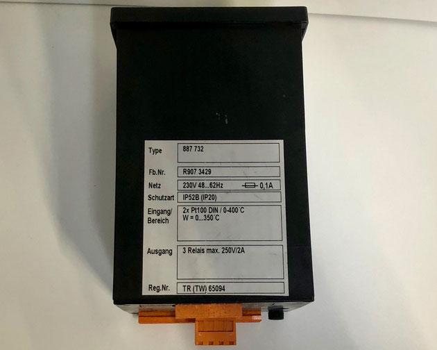Wiesloch electric controller, type 887732