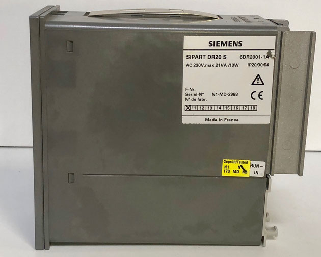 SIEMENS SIPART electric controller, Type: DR20 S