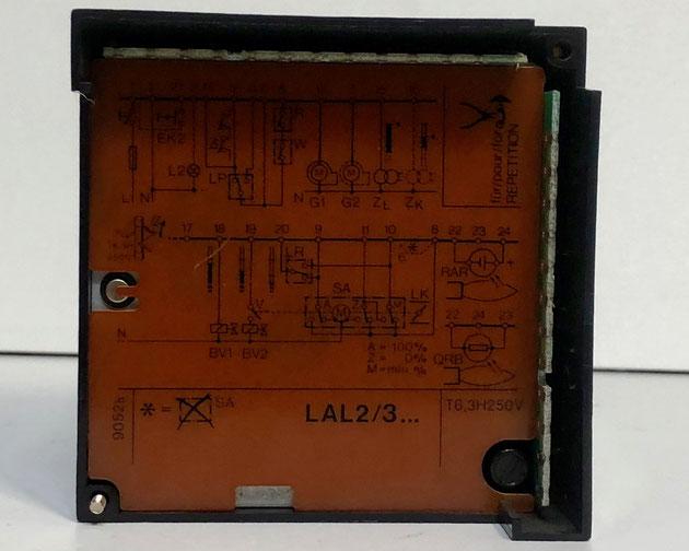 SIEMENS Oil Burner Control, Type: LAL2.25
