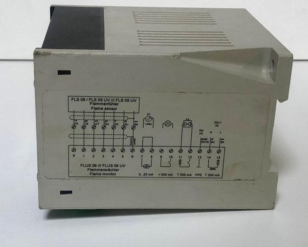 SAACKE flame detector, Type: FLUS06 UV
