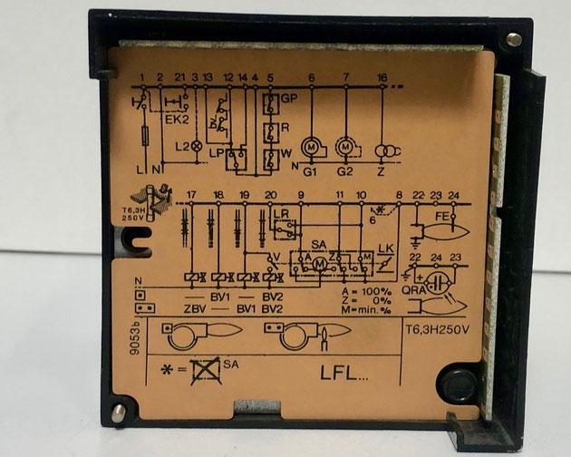 LANDIS & GYR burner control, Type: LFL1.322