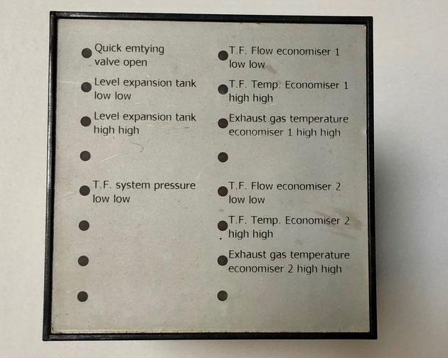 Wiesloch alarm unit type 821A21rr