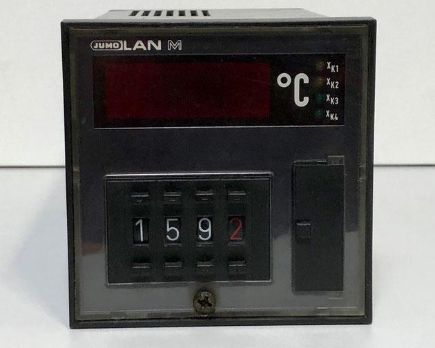 JUMO LAN M electric controller, Type: MRDW-96