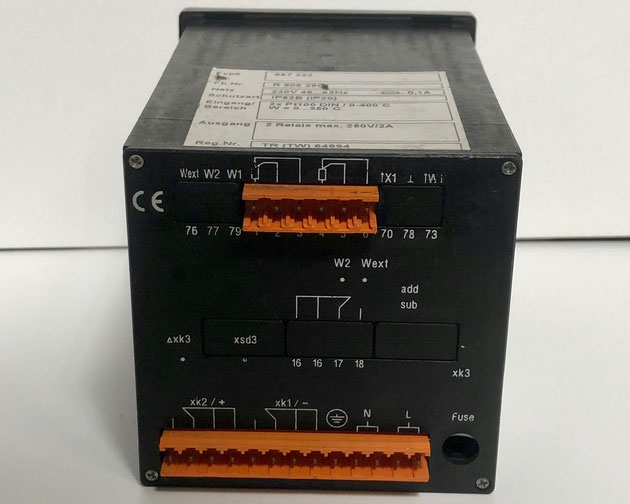 Wiesloch electric controller, Type: 887222