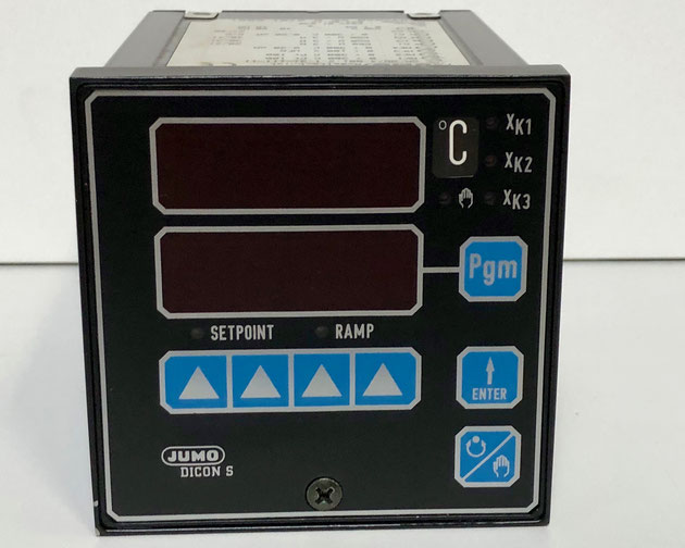 JUMO DICON S electric controller, Type: SR-96