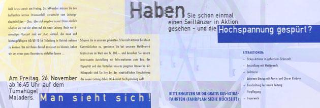 Asuzug aus dem von WerbART gestalteten Flyer.
