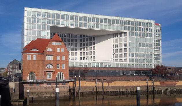 Migration - Ericus-Spitze Hafencity Hamburg