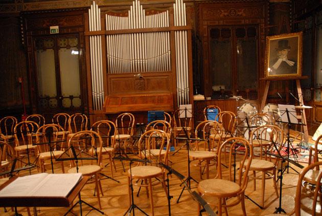 Il Salone d'Onore di Casa Verdi