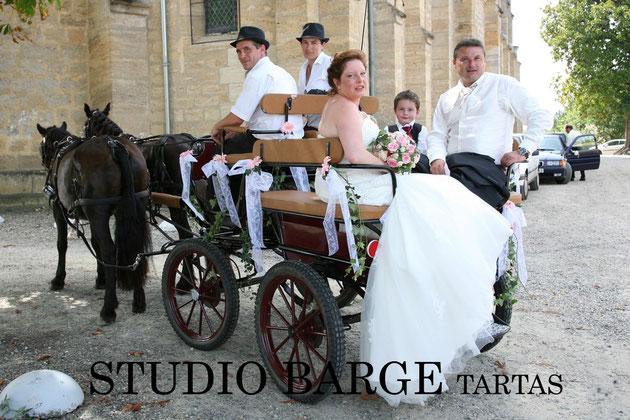 location calèche mariage
