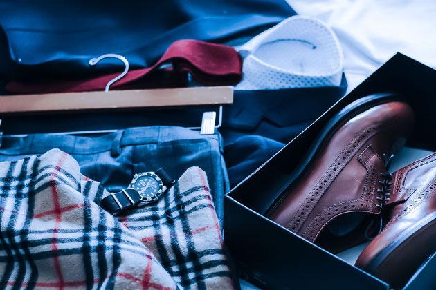 Ihr persönlicher Stil-Guide: Sie wissen jetzt, welcher Schnitt bei Hemden, Hosen oder Sakkos Ihrer Figur schmeichelt. Sie sind sich sicher, welche Muster zu Ihrem Typ passen und wie Sie Ihre schönsten Parts betonen und Ihre Problemzonen kaschieren können.