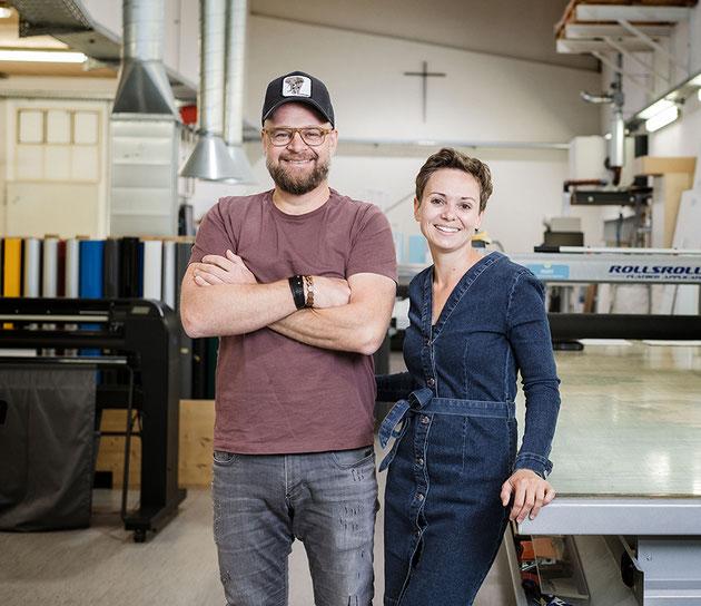 Andy & Melanie Steindl /Foto: Gretter