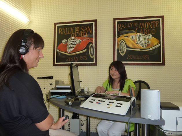Audiometrie im Schallschutzraum