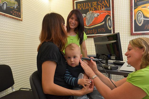 Kinderaudiometrie: Objektive Hörmessung