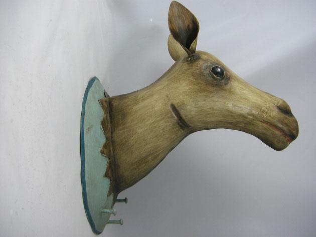 Troph he garderobenhaken kamel kamel troph e blechtiere for Tiere aus metall gartendeko